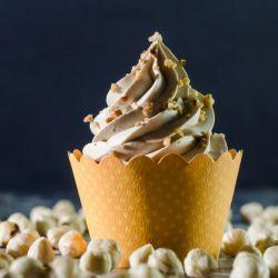 Peanut and Hazelnut Cupcake // Fuel your passion with more recipes at www.pregelrecipes.com