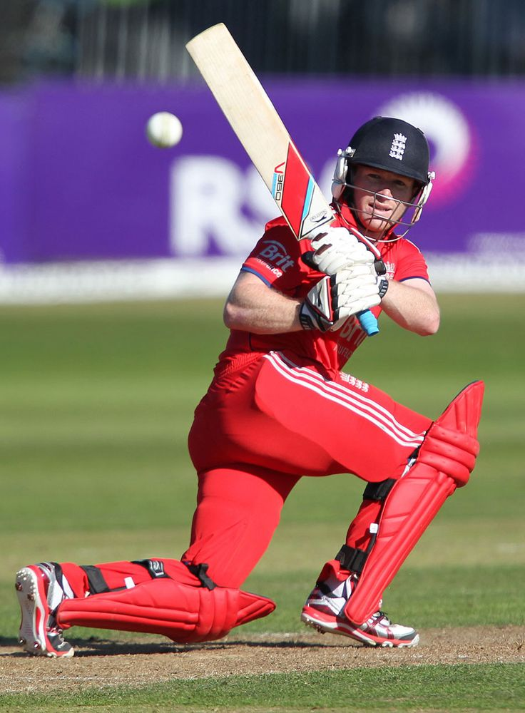 Eoin Morgan swept England back on course