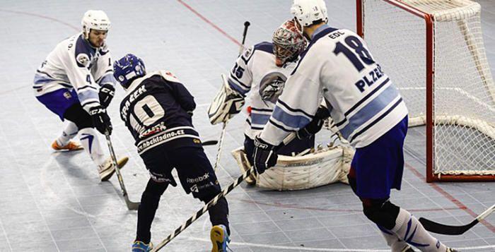 Plzeňští hokejbalisté odjeli z Kladna s prázdnou
