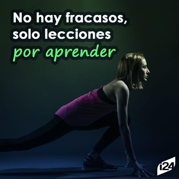 ¡Sigue adelante! #Frase #Inspiración #Motivación #Fitness
