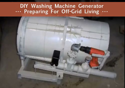 Diy Washing Machine Generator Http Homestead And