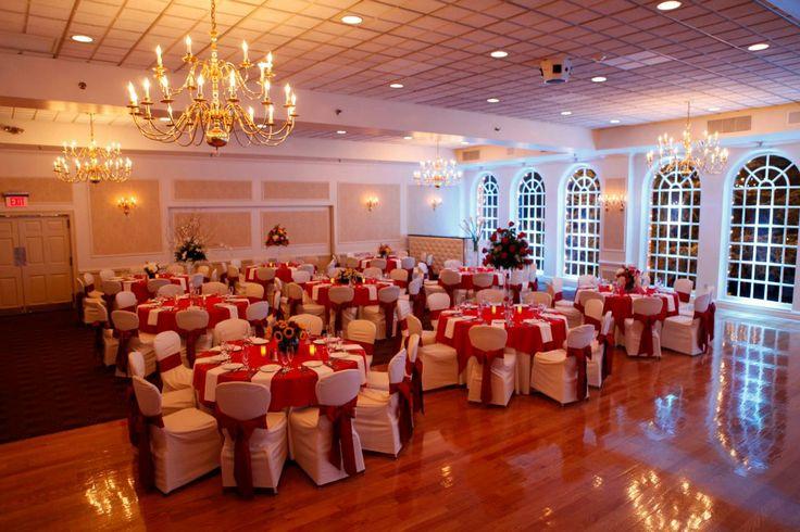 Wedding Venues Long Island Red Wedding Colors Chandeliers
