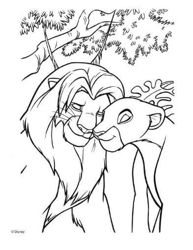 68 best Coloring Pages/LineArt-Disney- Lion King images on