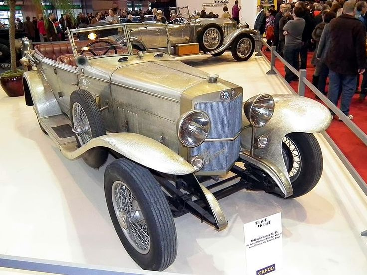 1925 AlfaRomeo RL SS with hand hammered alloy touring body.  Built for Sultan Mohammed Shah Aga Khan III.
