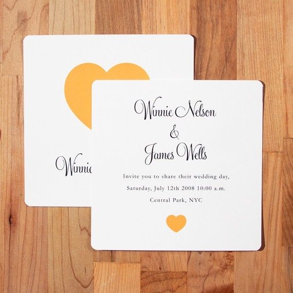 uncomplicated, sweet, straightforward invitation.  it's kind of universal, and would work well for many different types of weddings.