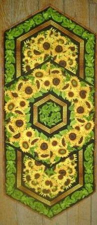 Triangle Frenzy Sunflower Runner
