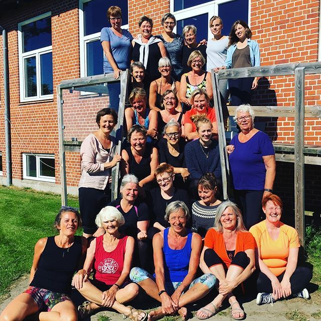 What a fantastic week with #iyengaryoga In Tversted - thanks from Ilse