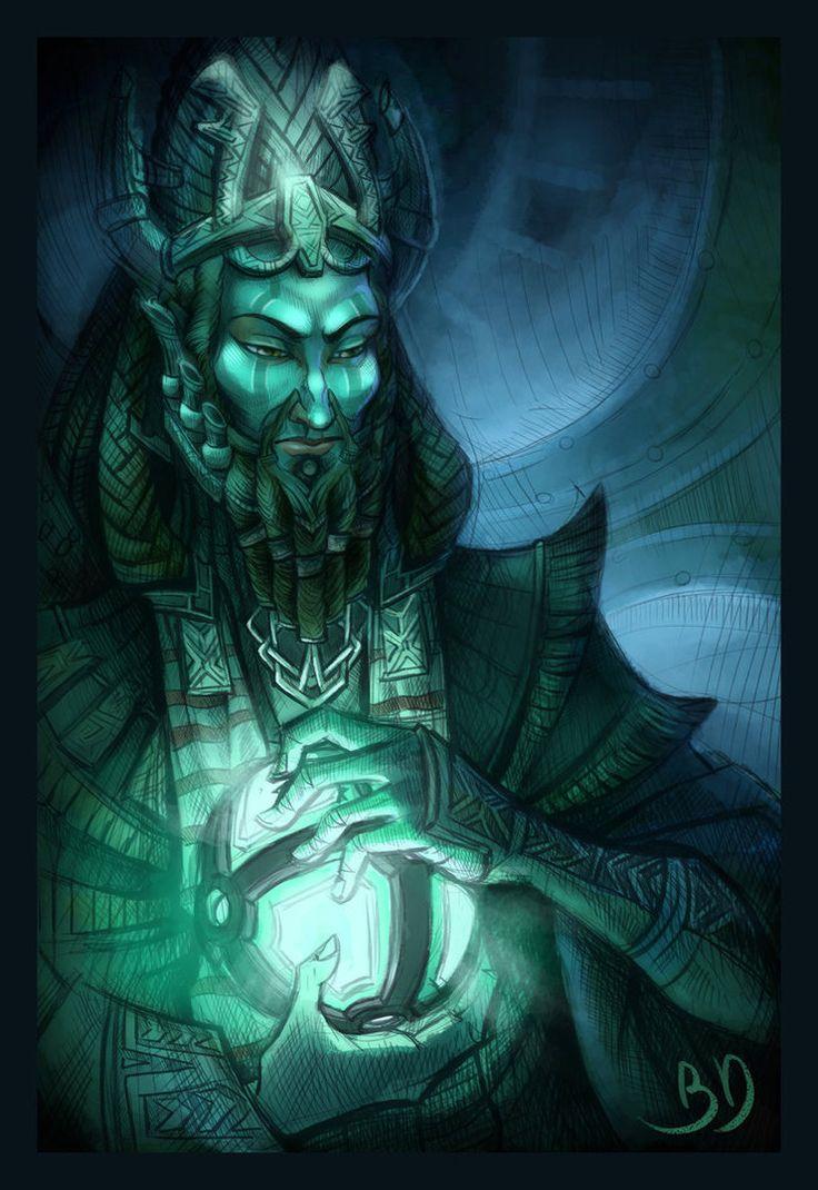 Skyrim concept art elder scrolls