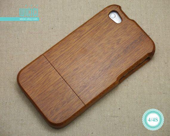 Telefonare a caso caso iPhone legno 4 Eco friendly di wicici