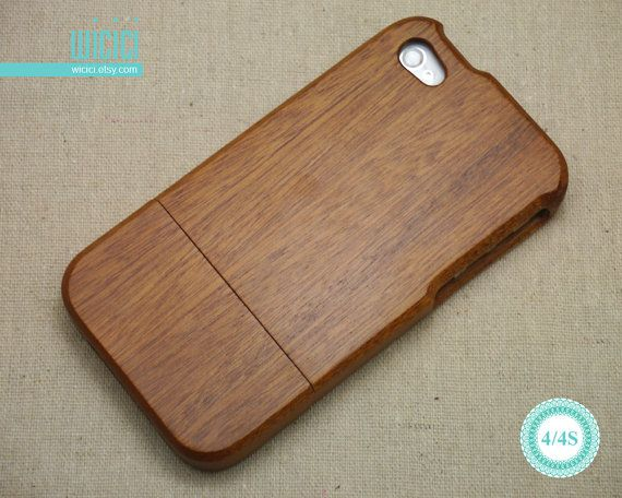 Telefonare a caso caso iPhone legno 4 Eco friendly di wicici