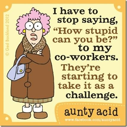 aunty acid | Rosemary's Blog Spot: Aunty Acid