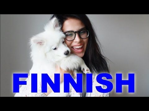 This is a finnish girl hammering the logic on finnish language!! Laughed so much