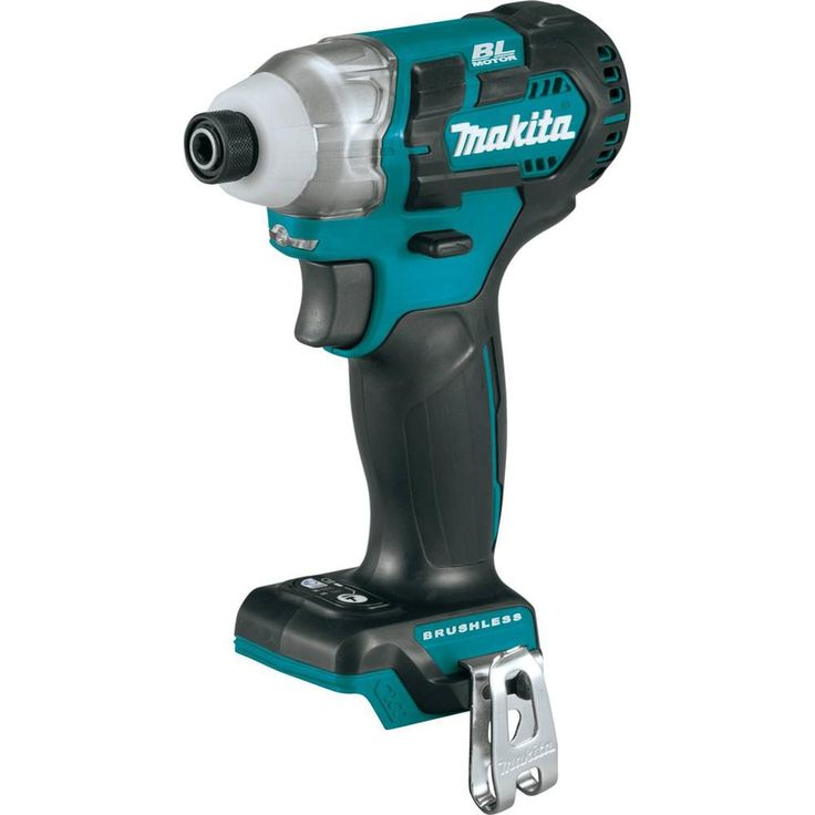 Makita 12-Volt MAX CXT Lithium-Ion Brushless 1/4 in. Cordless Impact Driver (Tool Only)
