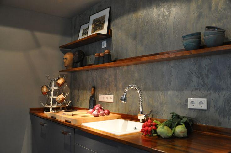 wabi sabi simple organic scandinavian living kitchen based on a ikea kitchen redesigned by. Black Bedroom Furniture Sets. Home Design Ideas