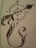 this isn't fancy enough, but I like the large arrow and the way there are 2 sides of the compass w/ additional detail.