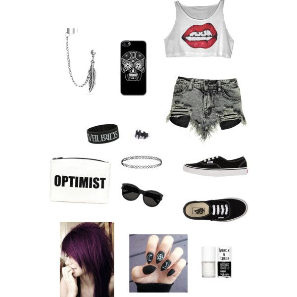 Wild&Young by cansu-sakin on Polyvore featuring polyvore, moda, style, Boohoo, Vans, Hayden-Harnett, Bling Jewelry, Topshop, Yves Saint Laurent and Uslu Airlines