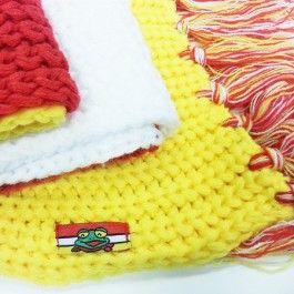 Oeteldonk das grof gebreide sjaal - Cadeau tips voor de feestdagen - Top thema's