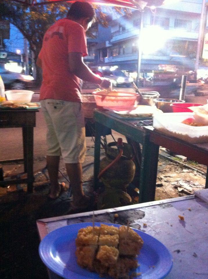 Pisang goreng Pontianak, West Kalimantan
