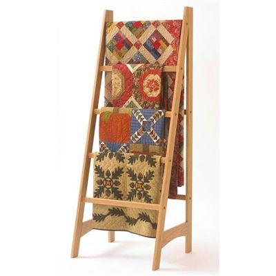 Buy Quilt Ladder - Downloadable Plan at Woodcraft.com
