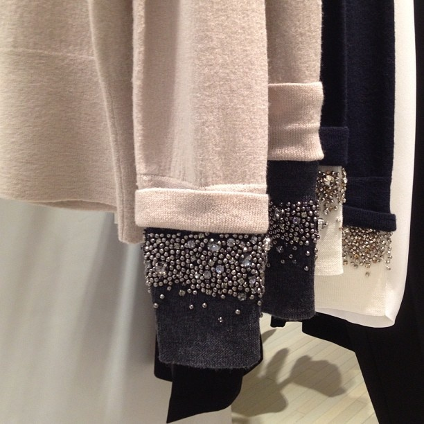 Sweater with an embellished sleeve by .1 Phillip Lim? @S5A S5A S5A- #webstagram