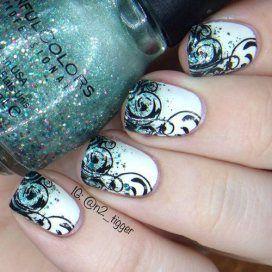 Cute and Dainty Nail Art Designs