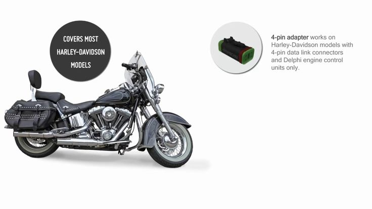 Unlike in the automotive industry, where there is a standard OBD plug for diagnosis purposes, motorcycle manufacturers decided to use their own individual ways of getting the same thing done.   #Adapter #Allows #Diagnose #HarleyDavidson #Motoscan #this