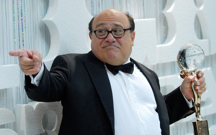 Danny Devito....I was a stand in and we did our lighting marks together.