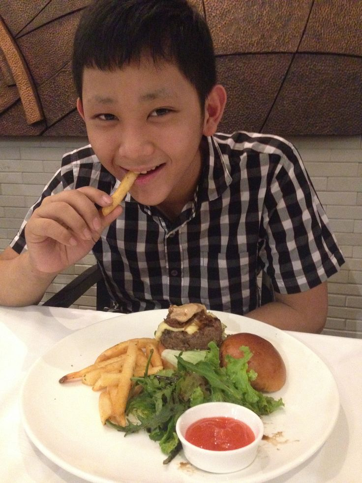 Edbert Joshua Angga. I'm in love with the Burger and the french fries. Thank you The Nest Grill.