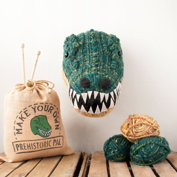 New to the Sincerely Louise kit range, this Jurassic creature will make a statement on any wall. The T-Rex features small and large bobbles that