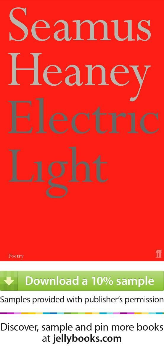 'Electric Light' by Seamus Heaney