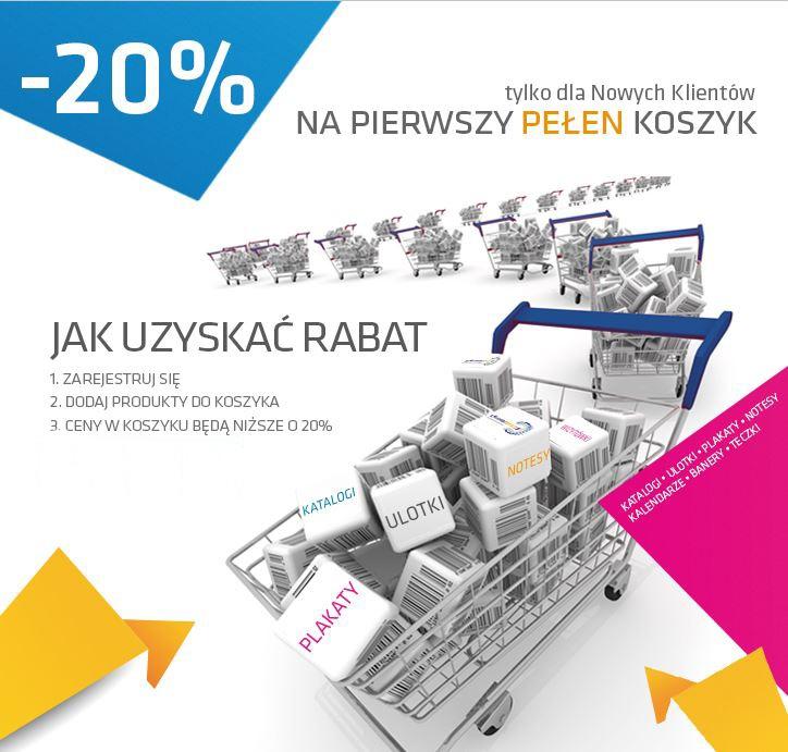 Promocja dla nowych klientów. -20% na pierwszy koszyk ! Więcej informacji w linku poniżej:    http://www.chroma.pl/strona/promocja-20