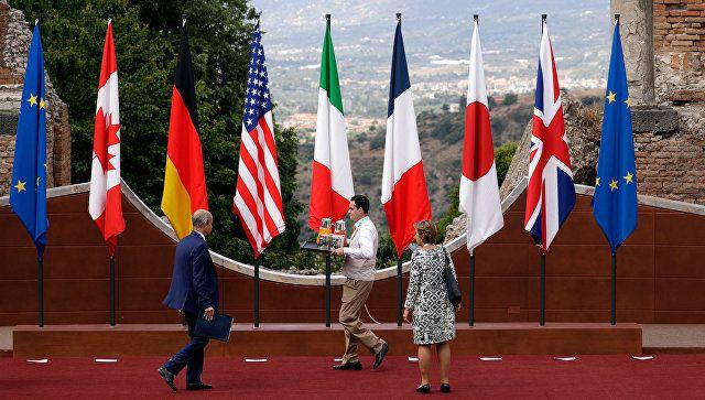 Глобальные мировые проблемы нельзя решить без России – саммит G7  http://da-info.pro/news/globalnye-mirovye-problemy-nelza-resit-bez-rossii-sammit-g7  Без диалога с Москвой решить основные международные кризисы не получится. К такому выводу пришли участники саммита «группы семи» на Сицилии. 27 мая проходит второй, заключительный день переговоров.  В первый день саммита участники обсудили вопрос борьбы с терроризмом, изменение климата и пути взаимодействия с Россией.  Саммит «семерки»…