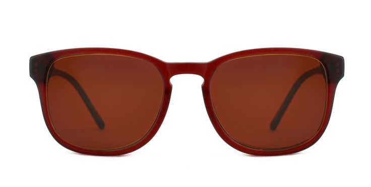 STUDENT UNION I A best selling shape somewhere between rectangle and round. An easy step up from sharper looks if you´re looking for something new. Bruised Red is a mid-range shade of burgundy