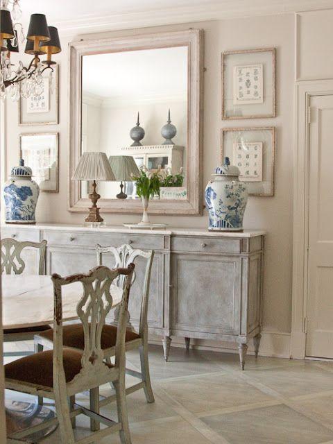 white wash furniture. blue and white giner jars whitewashed furniture wash 0