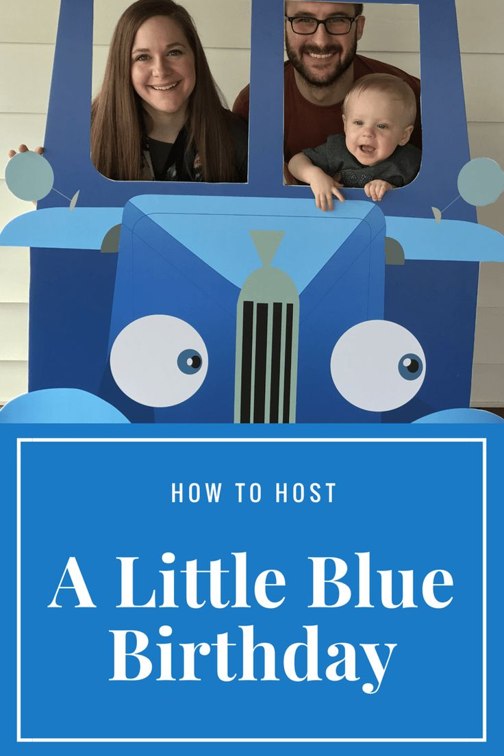 Throw the best Little Blue Truck themed Birthday Party for your little one!