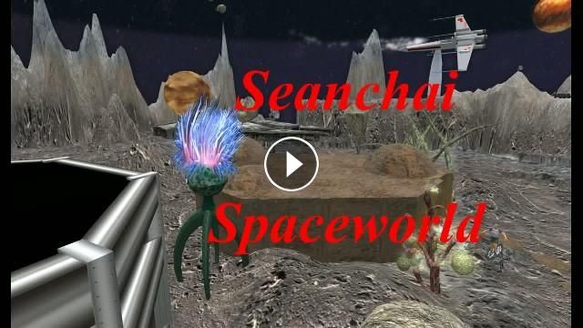 "A Kitely Metaverse tour - Seanchai Spaceworld and Explore World Music: ""Ain't We Got Fun"" by Peggy Lee..."