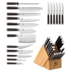 Shun Knives & Knife Sets   Williams Sonoma