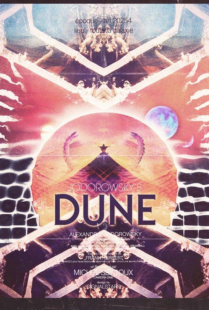 Jodorowsky's Dune, original poster art.