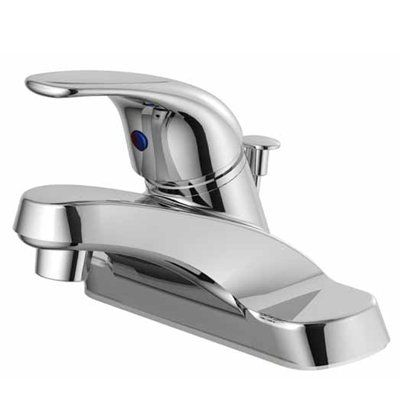 Project Source Bathroom Sink Faucet F4510041cp Chrome 1