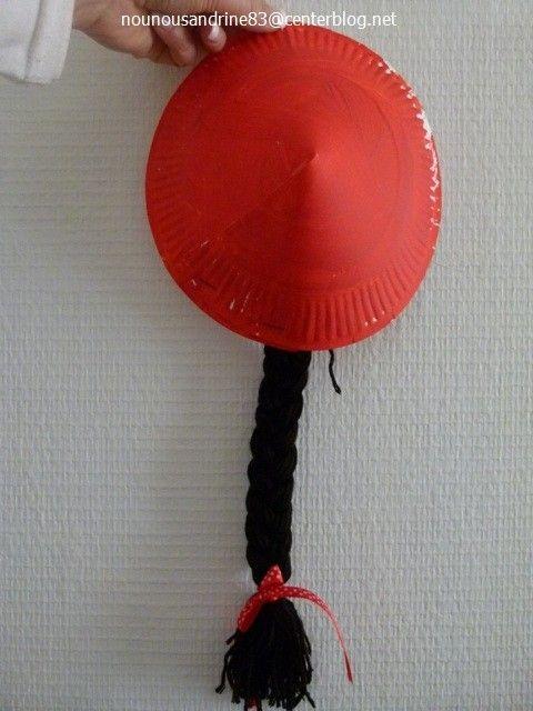 activité manuelle : le chapeau chinois                                                                                                                                                                                 Plus