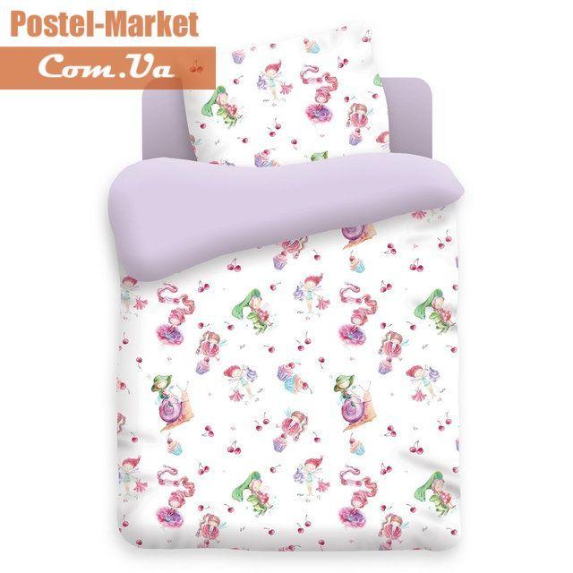 Постельное белье Маленькие феечки в кроватку купить в интернет магазине Постель Маркет (Киев, Украина)