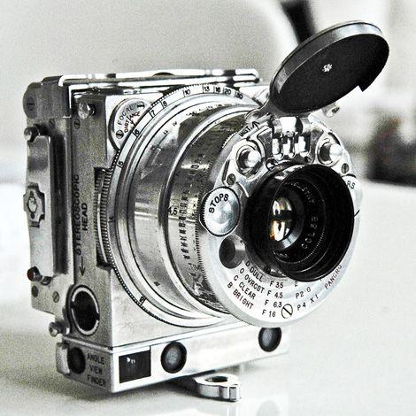 Jaeger LeCoultre Compass 35mm subminiature camera, c.1938. Via Otaku Gangsta