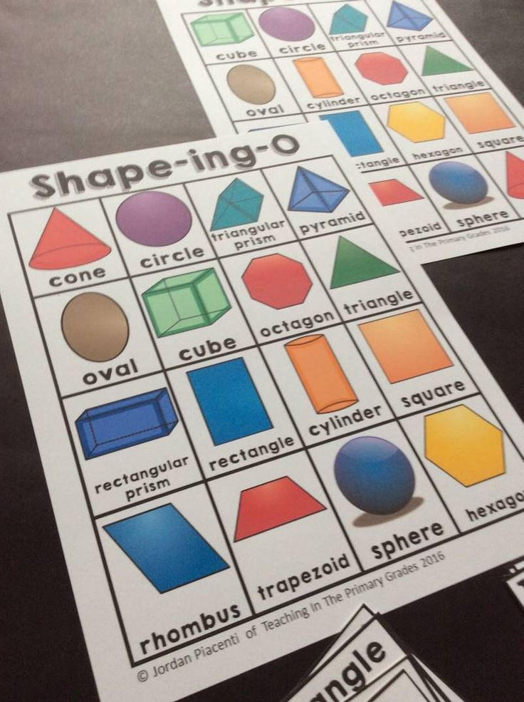Practice identifying the attributes of 2D and 3D shapes with this fun bingo game.