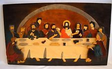 """Handmade by Aoife O'Regan, Walsh Crafts Ltd """"Arlene Fay: I designed this one ( The Last Supper)- it was only put into production as a Christmas present for my late Mam- so I still have the first one ever made!!!"""""""