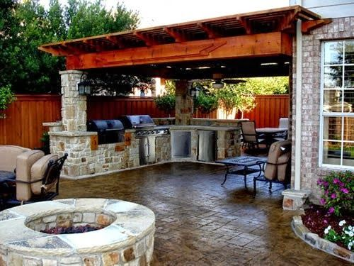 Wonderful And Simple Outdoor Kitchen Ideas If You Do Not Have Much Budget For The Expensive