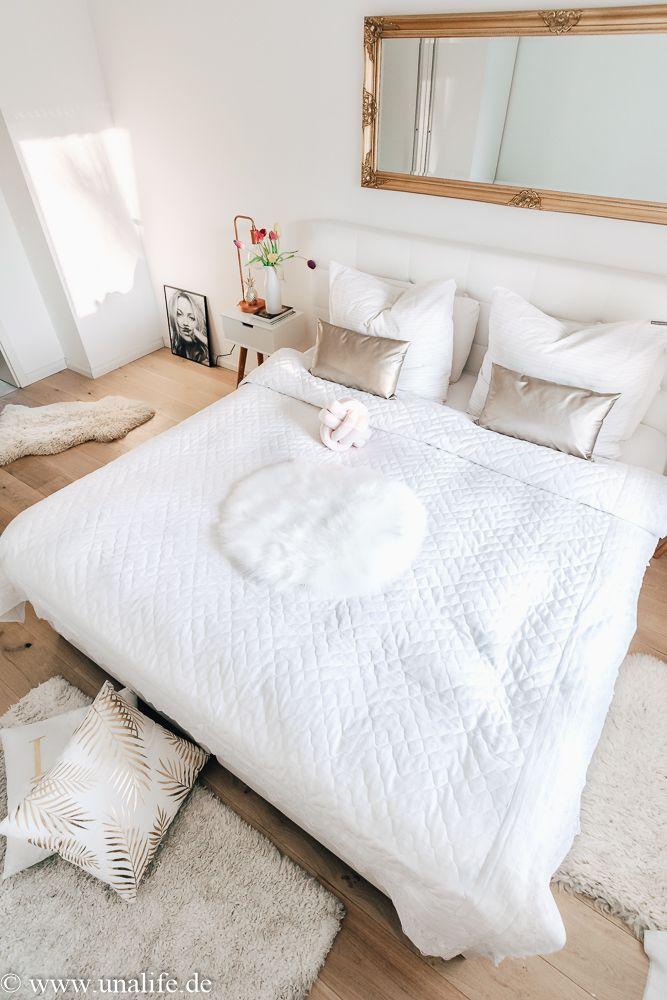Schlafzimmer Deko über Bett