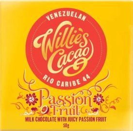 Willie's Cacao - Passion Fruit 44% melkchocolade