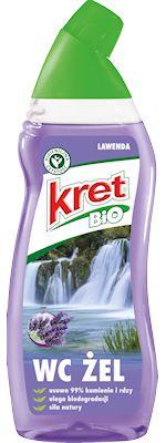 Przeznaczony do mycia i pielęgnacji muszli toaletowych, bidetów i pisuarów. Nie zawiera chloru, silnego kwasu, substancji chemicznych EDTA, formaldehydu, fosforanów, PCW, konserwan...
