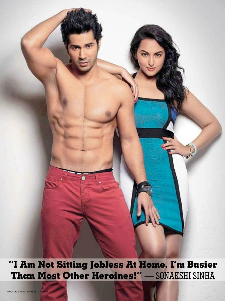 Varun Dhawan and Sonakshi Sinha on The Cover of Stardust Magazine – January 2013.
