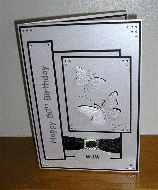 50th Birthday Card | docrafts.com